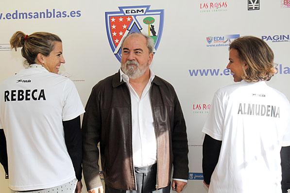 EDM San Blas - Maillo y Santos presentan las equipaciones de la EDM ... 2f1f6d3a4c8fe